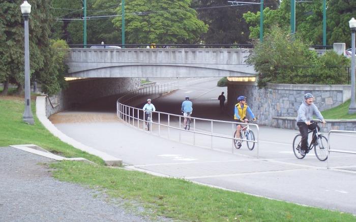 Underpass in Stanley Park, Vancouver
