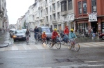 Some good wet-weather protection in Ghent, Belgium