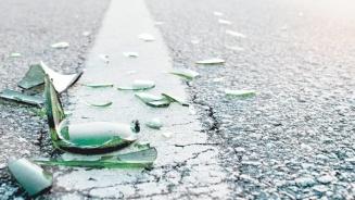 Image result for broken bottles in the street