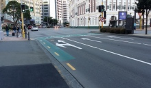 Plenty of advance cycle boxes in Wgtn - but how to get to them?