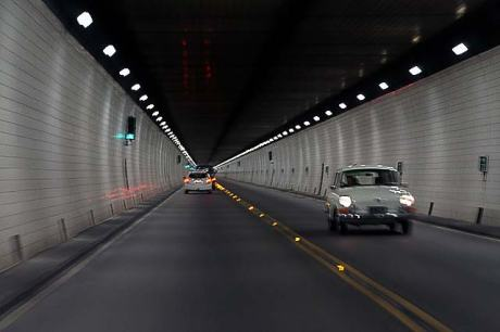 It's quite a cool experience to ride inside the Tunnel (c/ Chch Daily Photo)