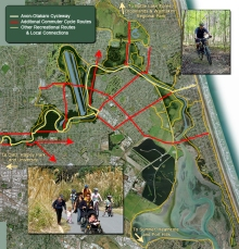 Potential Eastern Cycle & Walkway Network
