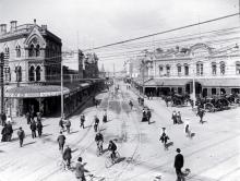 Central Christchurch circa 1910 (c/ Chch City Libraries)