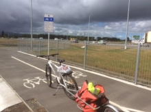 The Southern Motorway Cycle Path. A great asset for the city.