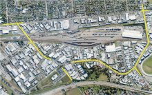 Overview of streets affected by proposed works
