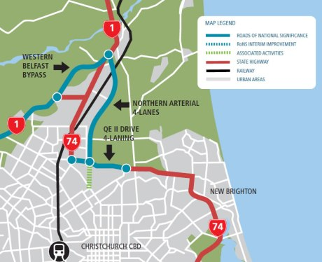 Overview of Northern Roading Projects